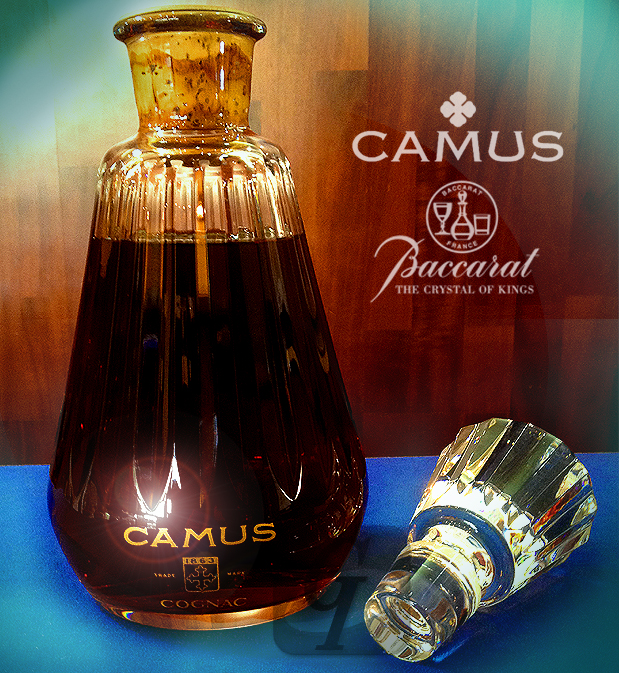 【Brand Shooting,Good Industrial design:Photo Collection】Camus Carafe Cristal Baccarat / カミュ バカラ・カラフェ