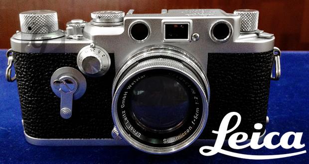 【Leica】ライカ IIIf セルフタイマー/Summicron ズミクロンレンズはバルナックライカ