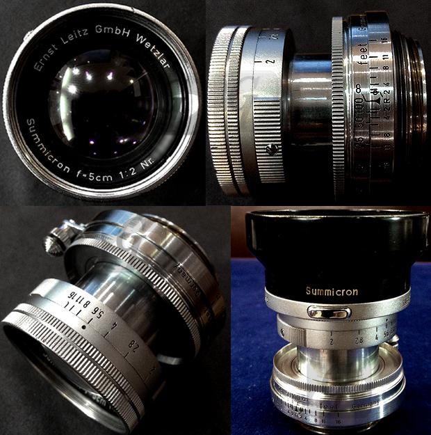 【Leica】ライカ IIIf セルフタイマー/Summicron ズミクロンレンズ バルナックライカ