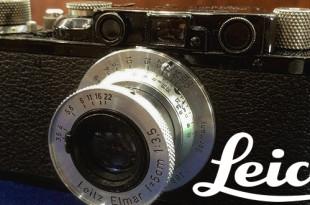 【LeicaⅡ】ライカⅡ D2 バルナック型 レンジファインダーカメラは第二次世界大戦中に各国戦地で活躍した秀逸モデル