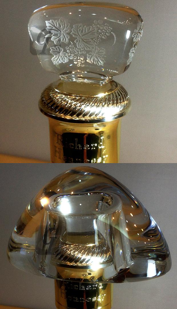 【Hennessy×Baccarat】リシャール ヘネシー バカラ ボトル -3