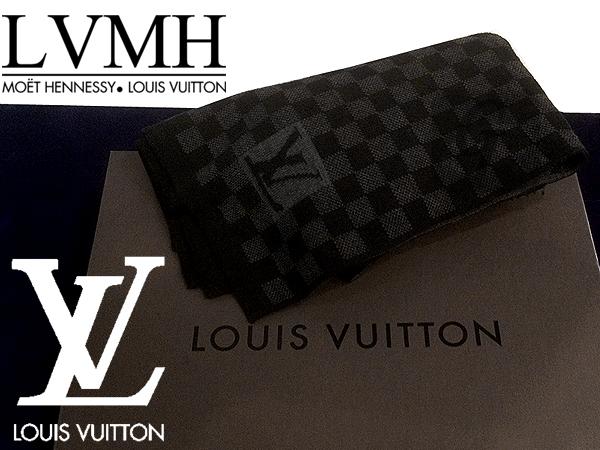 【LOUIS VUITTON】ルイ・ヴィトン エシャルプ・プティ ダミエ M74200