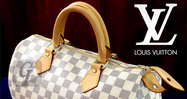 【LOUIS VUITTON】ルイ・ヴィトン スピーディ 30 ダミエ・アズール バッグ