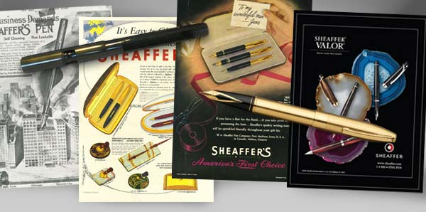 【Sheaffer】シェーファー 14K 万年筆・ボールペンセットはヴィンテージ心をくすぐる秀逸なモデル