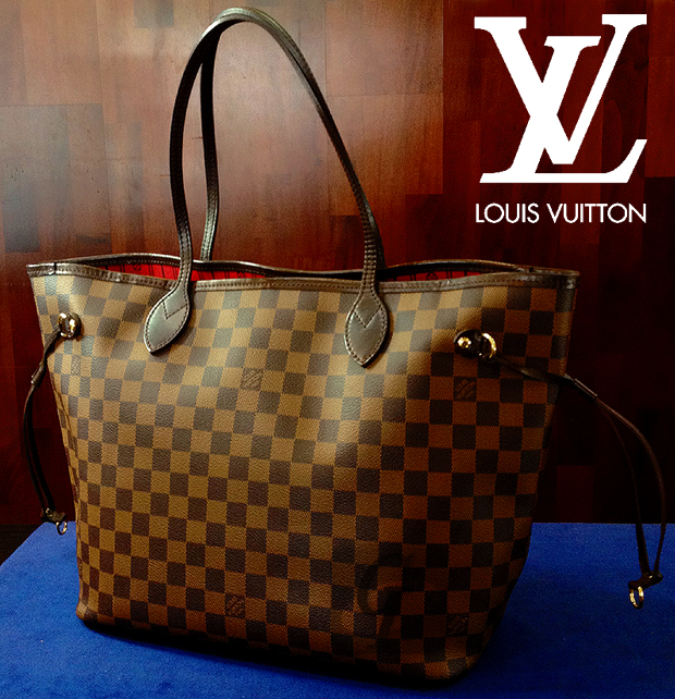 【LOUIS VUITTON】ルイ・ヴィトン ダミエ ネヴァーフルMM バッグ はクリスマスや誕生日プレセントに定番人気モデル