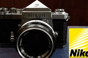 """日本光学工業:ニコン""""Nikon""""F 一眼レフフィルムカメラ"""