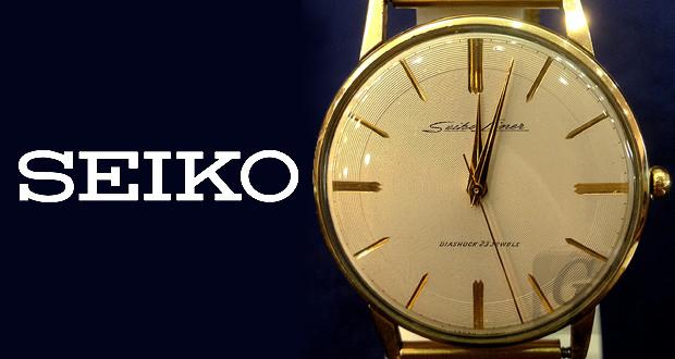 【SEIKO 】セイコーライナー ダイアショック LINER DIASHOCK 23石 薄型設計の限界に成功した国産アンティーク高級モデル