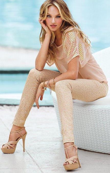 """【Victoria Secret】キャンディス・スワンポール Candice Swanepoelの私服""""スタイリング"""" アイデア10選"""