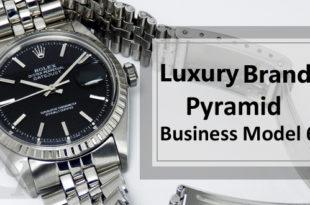 【ラグジュアリー戦略】ピラミッド型ビジネスモデルからみえる高付加価値を維持する 6 つのラグジュアリーブランドモデル