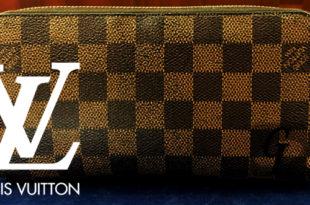 【LOUIS VUITTON】ルイヴィトン ダミエ ジッピーウォレット ラウンド N60015 の買取相場と買取準備の為にリペアをしてみる