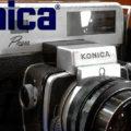【Konica】 コニカ コニカプレス Konica Press オメガ 1:3.5 f=90mm 今はなき古きよき時代の遺産