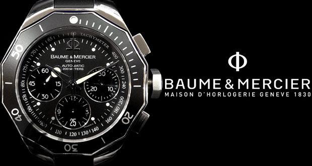 【BALUME&MERCIER】 ボーム & メルシエ リビエラ ダイバー クロノグラフはマニアを満足させる隠れた希少モデル