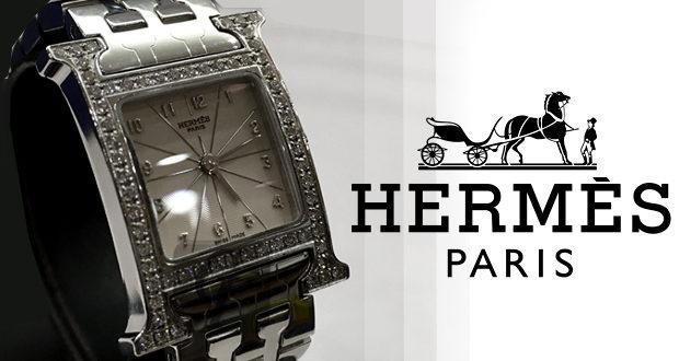 【エルメス 腕時計買取】HERMES Hウォッチ HH1.230 オールアッシュ ダイヤベゼルを再買取して初めてブランドの実力がわかる