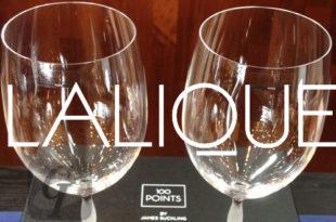 【Rene Lalique ルネ・ラリック】ボルドーワイングラスで アール・ヌーボーデザイン漂う神秘的な輝きをワインと共に楽しめる
