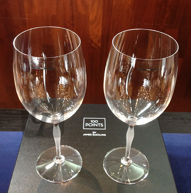 【Rene Lalique ルネ・ラリック】ワイングラスで アール・ヌーボーデザイン漂う神秘的な輝きをワインと共に楽しめる