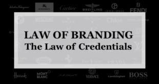 """【ブランディング22の法則】信用力の法則:個人・企業がラグジュアリーブランドとなるにはマーケティングや広告は後で""""信用力の獲得""""が先である"""
