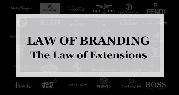 【ブランディング22の法則】ライン延長の法則:成功作を否定してラインの拡張を行う事はブランド力を著しく低下させる