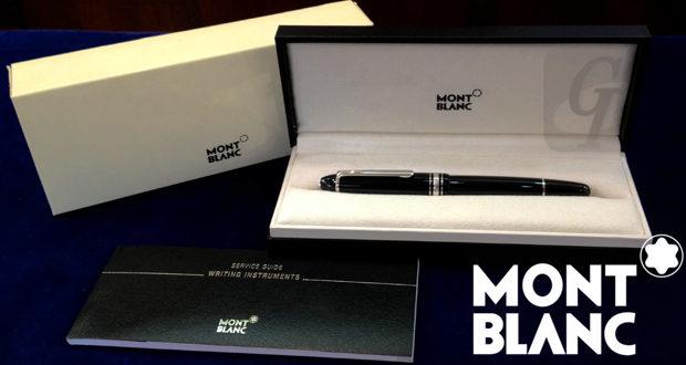 【MONTBLANC】モンブラン:マイスターシュテック/スターウォーカーは書きやすさとリセールバリューが抜群で高級筆記具として最適なモデル