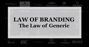 【ブランディング22の法則】ジェネリックの法則:成功に至る最も早い近道のひとつは音声で印象に残る名前をつけることである