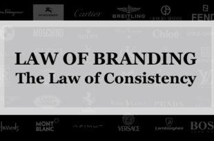 【ブランディング22の法則】一貫性の法則:ブランドは一夜で築かれるものでなく何十年単位で測定される