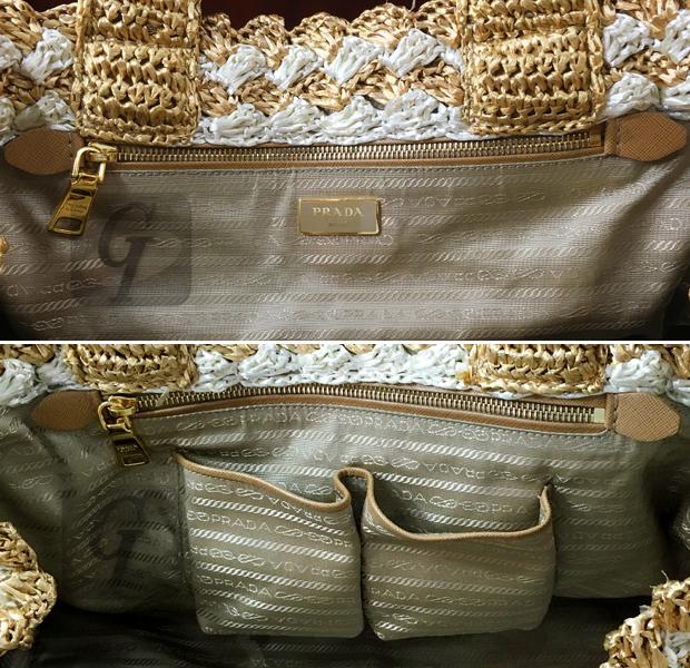 【PRADA プラダ】ラフィア クロシェット トートは 夏のレジャーから買物までマルチに使える優れたバッグ