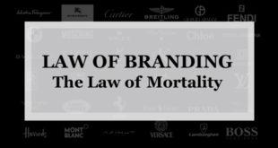 【ブランディング22の法則】寿命の法則:どんなブランドにも寿命があり時代の流れで安らかに死を迎える方がベストである
