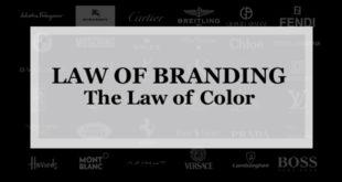 【ブランディング22の法則】色調の法則:長期に渡る色の一貫性はブランドをアタマの中に焼き付けるのに役立つ