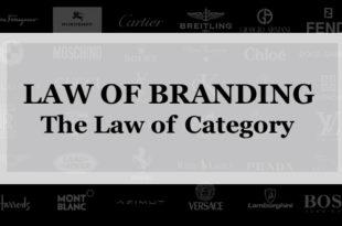 【ブランディング22の法則】カテゴリーの法則:成長するブランドはブランドを売り込むのではなく新カテゴリーを売り込むことにある