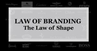 【ブランディング22の法則】形状の法則:ブランドロゴ・デザインのパワーは弱く強いパワーは哲学を伝える言葉にある