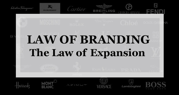 【ブランディング22の法則】拡張の法則:あなたが短期的に売上が欲しいなら拡張を 長期的にブランドを築くなら収縮をすすめる