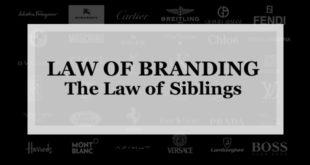 【ブランディング22の法則】兄弟の法則:第 2 ブランドを作る場合 あなたが極めたいカテゴリーを長期に創造するためだけに使う