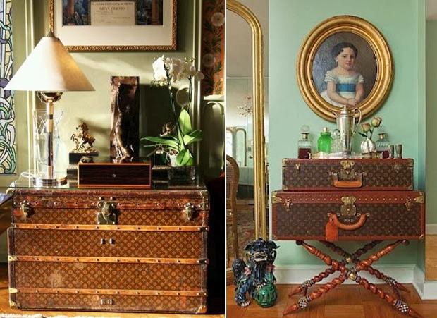 【 Louis Vuitton home furnishings 】インテリア上級者が取り入れるべき 資産価値の高い ヴィトン・アンティークトランク 9選