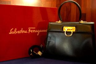 【Salvatore Ferragamo】サルヴァトーレ・フェラガモ ガンチーニ レザーハンドバッグは流行ブランドと被らない高級感溢れる上質アイテム