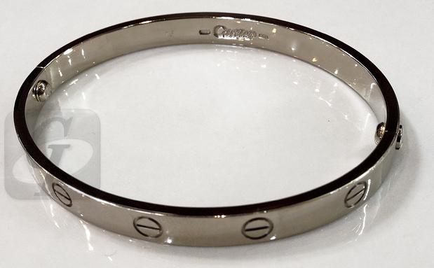 【Cartier カルティエ】ラブブレス K18WG バブルから約 20 年以上経てもリペアと上昇相場で約 2.45 倍の買取査定で大幅増額で売却してみた