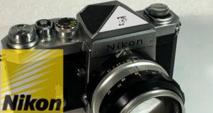 "【Nikon】ニコン""F""640万台 初期型一眼レフフィルムカメラは 約 60 年経っても 10 万円以上する世界市場を席巻した高機能戦略成功モデル"