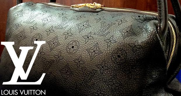 【LOUIS VUITTON】ルイ・ヴィトン マヒナ ガラテア PM ノワール M93814 バッグは上質な大人の女性に最適な高級レザーの稀少モデル