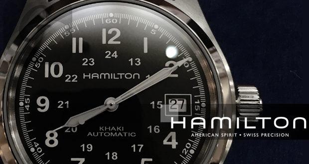 【HAMILTON】ハミルトン カーキ フィールド オートマは 青島モデルとして取り上げられた リーズナブルで実用的なミリタリーウォッチ