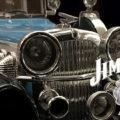 """【JIM BEAM ジムビーム】デューセンバーグ モデルJ デキャンタは 米国""""狂乱の20年代""""を象徴する豪華車でバーボン市場に投入し富裕層を取り込む"""