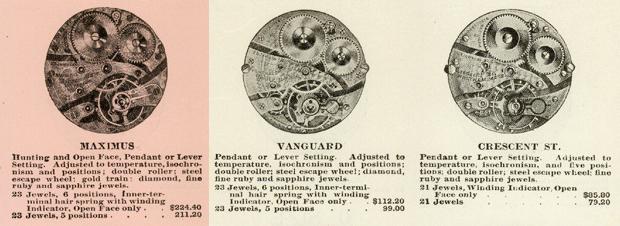 【Waltham】ウォルサム リバーサイド マキシマス Riverside Maximus 23石 14金無垢は 約 110 年経ても懐中時計の稀少なラグジュアリーモデル