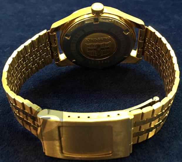 【SEIKO:KING SEIKO】キングセイコー 25石 盾メダリオンは 約 50 年以上経て 腕時計買取から分かる高耐久を追求しバランスに優れた高価格モデル
