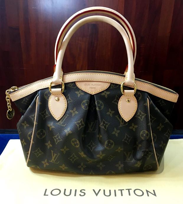 【LOUIS VUITTON】ルイ・ヴィトン モノグラム ティヴォリPM 未使用 のヴィトンバッグを買取に出し相場を調べ売却してみた