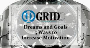 【Φ-GRID STYLE】ゴールを固め 夢や目標をかなえる為に 行動の動機づけを高める簡単な 5 つの方法