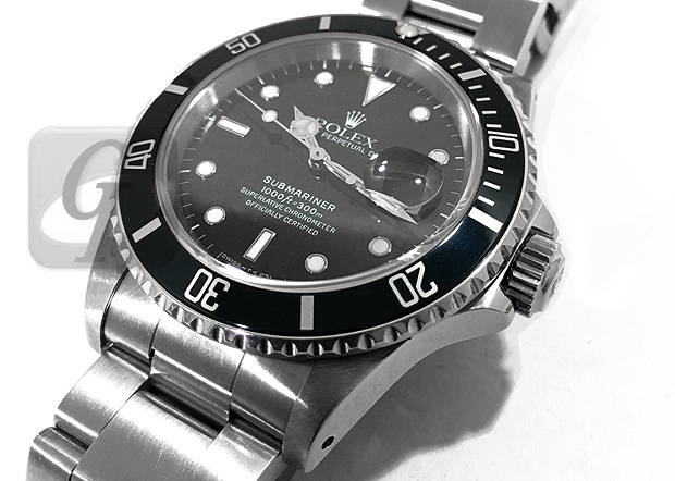finest selection d0325 9b221 ROLEX SUBMARINER DATE 16610】ロレックス サブマリーナ デイト ...