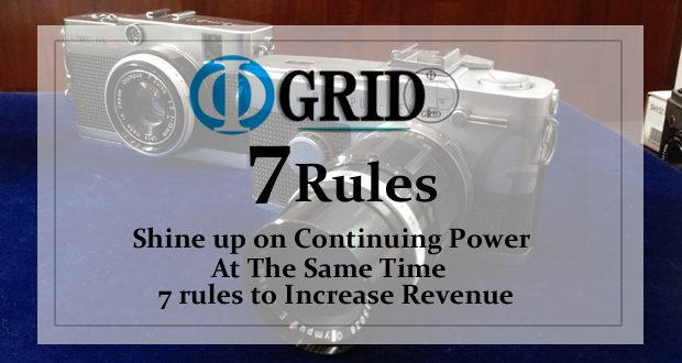 【Φ-GRID STYLE】子供も大人も簡単にできるやり抜く力を磨き同時に収益を拡大させる 7 つのルール