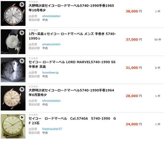 【SEIKO LORD MARVEL】セイコー ロードマーベル は グランドセイコーのベースとなり未だに高額買取される国産腕時計の隠れた逸品モデル