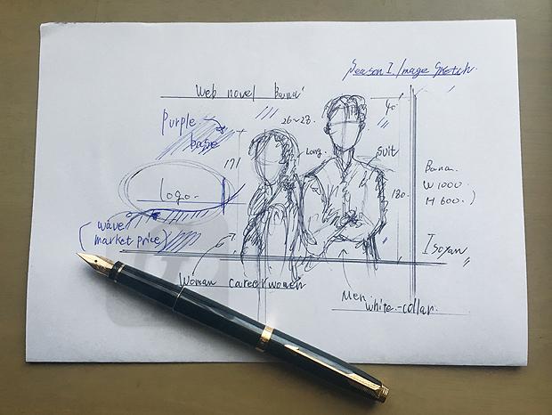 【バリューダンス:Value dance】綾の証明 -Aya Reveals- Web小説用 アイキャッチ編 主人公のイメージを素早く創作していきます