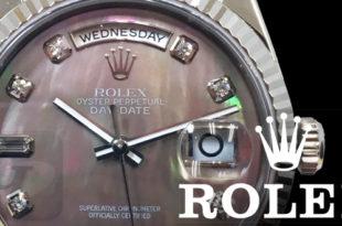 【ROLEX Day Date WG 118239NG】ロレックス デイデイト ホワイトゴールド ダイヤモデルは実用性に優れ中古でもリーズナブルな最高級フラッグシップ ドレスモデル