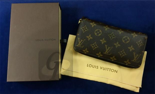 【LOUIS VUITTON】ルイ・ヴィトン ジッピー・ウォレット 長財布をホワイトデーのお返しにリペアしたが未だに高価買取ができる機能性と資産価値の高い実用モデル