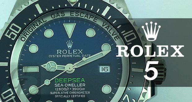 【Rolex 5models Selection】ロレックスマニアが選ぶ保有しても投資効果の高いオススメ 5 つの人気モデル