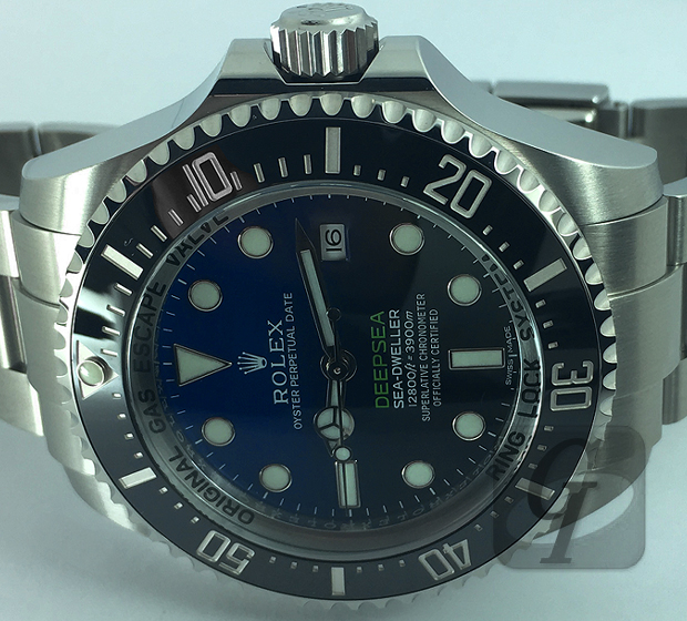 【Brand Shooting,Good Industrial design:Photo Collection】Rolex Seadweller Deepsea D-Blue Ref.116660